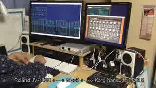 Roland JV-1080 をアナログシンセのように