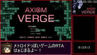 【ゆっくり】AxiomVerge RTA_57分56秒97【