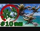 【実況】最低限文化的な狩りをするモンスターハンター4G #10 後編【MH4G】