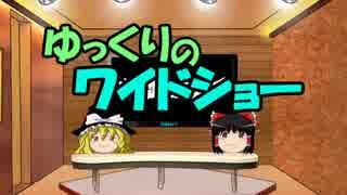 ゆっくりのワイドショー第11回放送