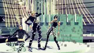 【MMD】 ギャングダンス組でSTEP 【ジョジョ】