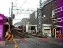 下板橋・踏切・下り電車・TJライナー車両