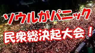 【ソウルがパニック】 民衆総決起大会!