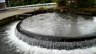 熊本  円形分水