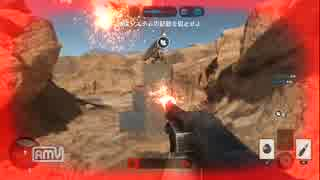PS4 Star Wars Battlefront  枯れた声で実況プレイ~無敵の帝国軍~