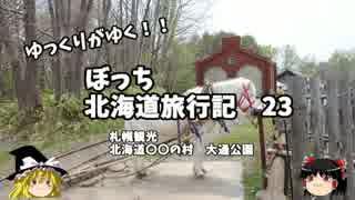 【ゆっくり】北海道旅行記 23 札幌観光編 大通公園ほか