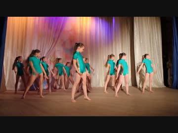 ロシアのとある少女モダンバレエの発表会