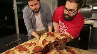 約45kgのピザを作る