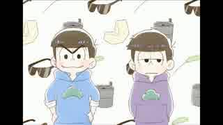 【手描き】次男と四男でグッキーダンス