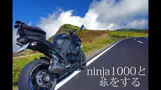 ninja1000と旅をする act.1 【マフラー交