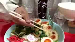 真岡市のラーメン店で麺3玉 卵6倍増 海苔