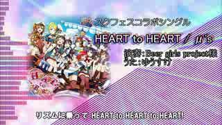【生バンドで】ラブライブ!HEART to HEART!をガチで歌ってみた(ゆうすけ) thumbnail