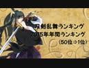 刀剣乱舞ランキング 2015年年間ランキング(50位⇒1位)