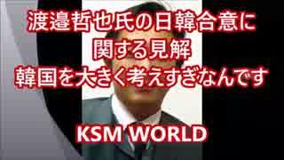 【KSM】渡邉哲也氏の日韓合意に関する見解 「韓国を大きく考えすぎ」