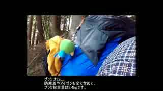 【雲取山】ウルトラライトで冬山登山(テ