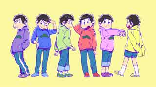 【手書き】有/頂/天/家/族/OPパロ【おそ松
