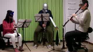 ソーサリアンより2曲クラリネットアンサンブルで演奏してみた