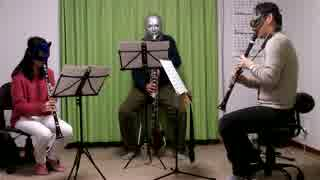 5つのディヴェルティメント第2番をクラリネットで演奏してみた