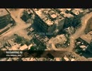 ホモと見る戦闘地域の空撮映像