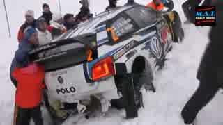 【WRC】ギャラリーによる救出活動