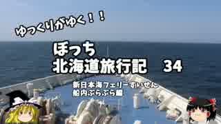 【ゆっくり】北海道旅行記 34 新日本海フェリーすいせん 船内放浪