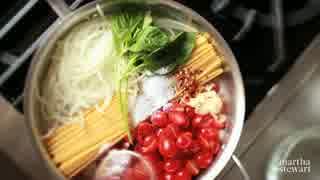 フライパン1つで簡単トマトソースパスタ
