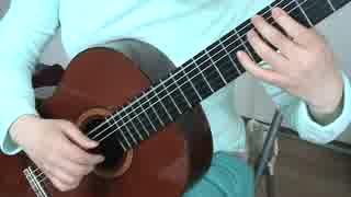 クラシックギターでアイスクリイムを弾いてみた。 thumbnail