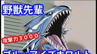 野獣先輩ブルーアイズホワイトドラゴン説