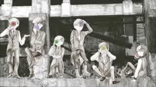 【合松】ア.ザ.レ.ア.の.亡.霊【手描き】