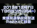 【TBS】政見放送時の対応と実験【Raziko】