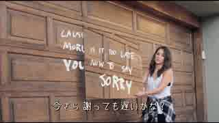 【日本語字幕】 Justin Bieber - Sorry (Lyric Video) 【の洋楽PV】
