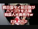 【KSM】親日国タイ旭日旗がバンコクを占領 韓国人火病発作w