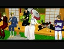 【MMD刀剣乱舞】こっち向いて鶴丸!で思いっきりふざけてみた 【おだて】