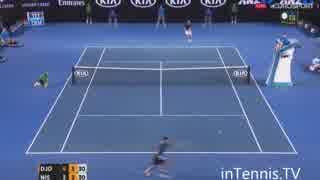 【全豪オープンテニス2016】準々決勝 錦