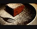 今日のおやつ 【材料2種】簡単すぎる!ガトーショコラ