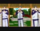 【MMD刀剣乱舞】 やさしい×××♪ 【へし切長谷部×3+α】