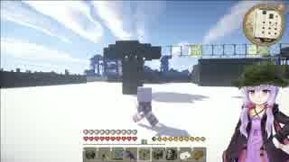 【Minecraft】ゲリラクラフト 周囲に防衛