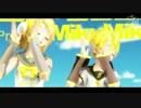 【MMD】 リンちゃん・レンくん「V4X」で「Yellow」