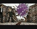 【MMD】師弟と師弟でブリキノダンス【REBORN!】