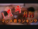 月刊マジメ君ランキング2016年1月号