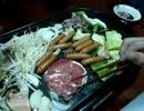 ラム肉ジンギスカン・キムチ鍋
