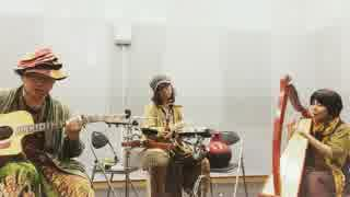 【弾き語ってみた】Arrietty's Song ハープ・ギターパーカッション【奇譚座】