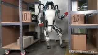 進化を続ける二足歩行ロボット「Atlas」