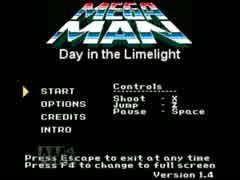 Megaman:Day in the Limelightをのんびりプレイする 1