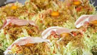 【これ食べたい】 広島のお好み焼き / Okonomiyaki in Hiroshima