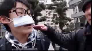 【3/11 ツイキャス】ドローン少年 デモ隊を撮る
