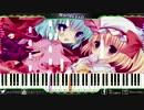 【東方ヴォーカル】-Kraster-WorldSEnD ピアノ連弾風の何か@採譜してみた