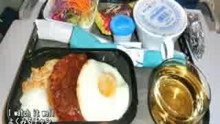 【これ食べたい】 機内食いろいろ / In-flight meal