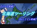 【バイク車載】初!北海道ツーリングPart2【上陸編】