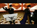 【MMD演奏してみた】Calc. piano ver.(フルートとピアノ編成)